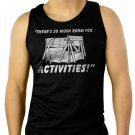 So Much Room For Activitie Men Black Tank Top Sleeveless