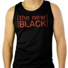 The New Black Orange is OITNB Men Black Tank Top Sleeveless