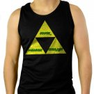 THE TRIFORCE Legend of Link Zelda Men Black Tank Top Sleeveless