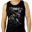 The Walking Dead Grimes Dixon Men Black Tank Top Sleeveless