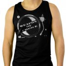 Weapon Of Choice DJ Turntable Club Men Black Tank Top Sleeveless