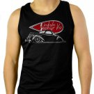 1937 Lincoln Zephyr Men Black Tank Top Sleeveless
