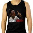 Chris Birdman Andersen FACE Men Black Tank Top Sleeveless