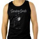Christian Death Men Black Tank Top Sleeveless