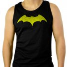 DC Comics Batman Fly Hush Bat Logo Men'sMen Black Tank Top Sleeveless
