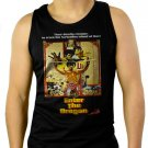 Enter The Dragon - Custom Bruce LeeMen Black Tank Top Sleeveless