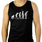Evolution of Golf Big & And TallGolfing Golf Club Tournament Mens Tee Men Black Tank Top Sleeveless