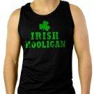 IRISH HOOLIGAN St. Patrick's Day Men Black Tank Top Sleeveless