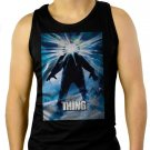 John Carpenter's The Thing Men Black Tank Top Sleeveless