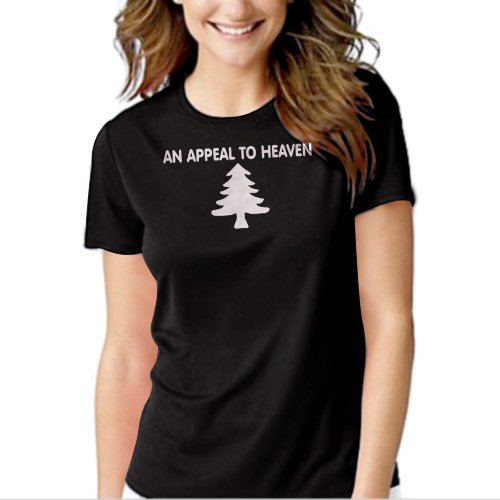 New Hot AN APPEAL TO HEAVEN Women Adult T-Shirt