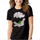 New Hot Cartoon Hands Pinch Pot Weed Swag Women Adult T-Shirt