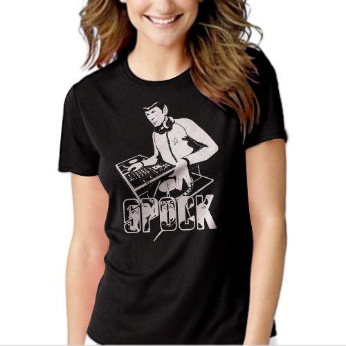 New Hot DJ Spock Dance Music Decks Women Adult T-Shirt