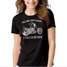 New Hot EMPTY BLADDER FUNNY MOTOCYCLE CHOPPER Women Adult T-Shirt