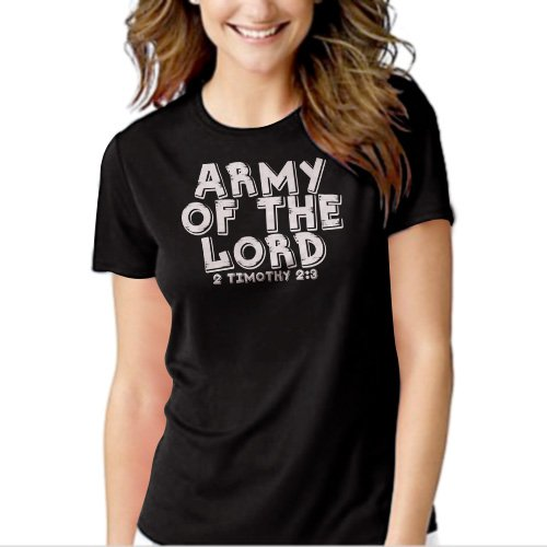 New Hot Army Of The Lord T-Shirt For Women