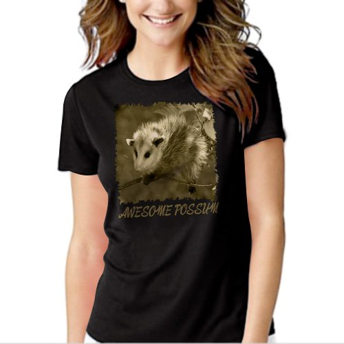 New Hot Awesome Possum animal mammal lover T-Shirt For Women