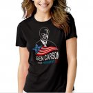 New Hot Ben Carson For President 2016 T-Shirt For Women