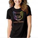 New Hot Golf Wang Cat OFWGKTA Tyler the Creator Odd Future Wolf Gang T-Shirt For Women