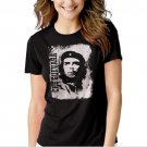 Che Guevara Retro Black T-shirt For Women