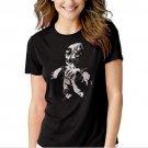 Voodoo Doll Goth Rock Black T-shirt For Women