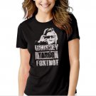Whiskey Tango Foxtrot Black T-shirt For Women