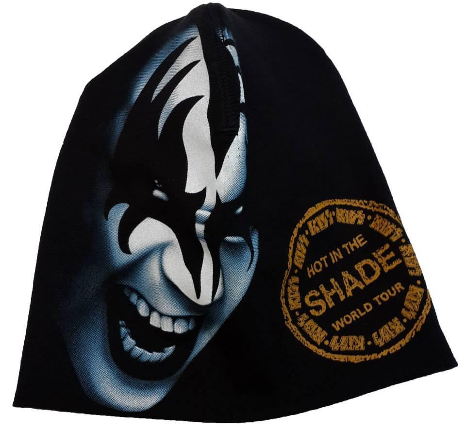 KISS Hot in The Shade Beanie Hat Heavy Metal Rock Band Snow Winter Ski Bikers Cap
