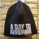 A DAY TO REMEMBER Embroidered Heavy Metal Rock Band Beanie Hat Winter Biker Cap