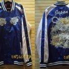 Japan TIGER Sukajan Embroidered Baseball Souvenir Flight Bomber Jumper Jacket