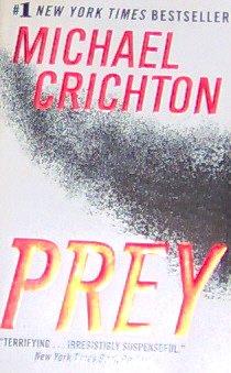 PREY -By Michael Crichton - PB/2002 Thriller