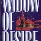 WIDOW OF DESIRE - By Justin Scott - PB/1990 - Suspense