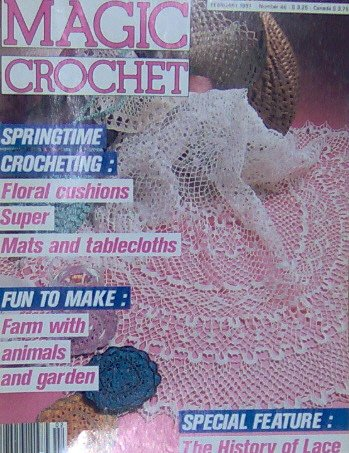 Magic Crochet Patterns- SPRINGTIME CROCHETING - February 1987 - 46