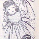Vintage UPSIDE-DOWN Doll and Clothes Pattern