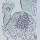 TURTLE HASSOCK and PAJAMA BAG - Vintage Pattern