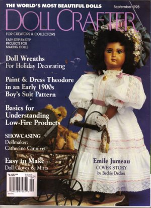 """Doll Crafter"" Magazine, Oct. 1998 #192"