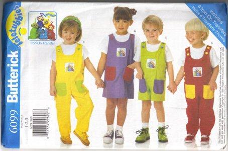 BUTTERICK Toddler's Jumper, Romper, Jumpsuit (PA11)