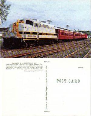 "The ""Potatoland Special"" Train, RR5"