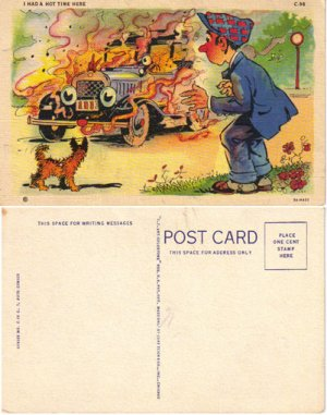 LN PC�Comic Auto post card, #PC30