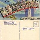 "LN PC—""Greetings from Nebraska"" post card, #PC62"