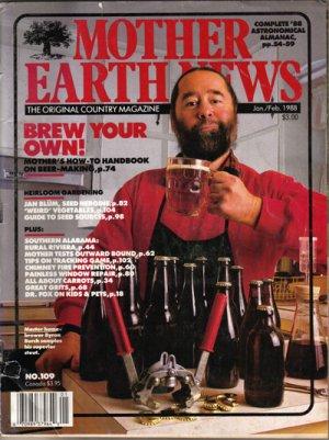 """MOTHER EARTH NEWS"" Magazine, Jan/Feb, 1988(213)"