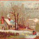 IXL LINIMENT Trade Card, ca 1880's, TC19
