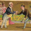 "CURTIS DAVIS & CO. ""Welcome Soap"" Trade Card, ca. 1880's, TC33"