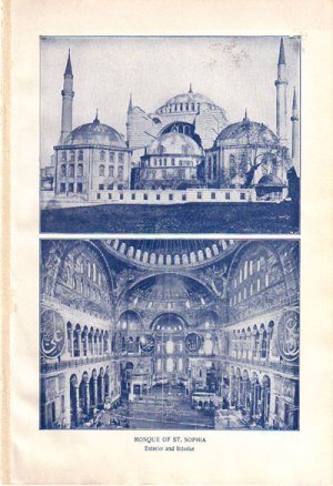 �Mosque of St. Sophia� Color Plate,  BP30