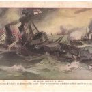 """The World's Greatest Sea Fight"" Color Plate WWI,  BP32"