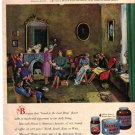 Maxwell House Coffee Ad, 1948, Richard Munsell painting  AD178