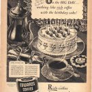 Edwards Coffee Ad, 1949,  AD180