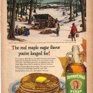 1949 Vermont Maid Syrup Ad, Artwork, AD153