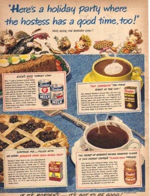 1949 Borden Milk Ad,  AD174