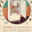 WESTINGHOUSE Refrigerator 1948 AD, AD110