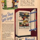1948 LOOK Servel Gas Refrigerator Ad Willard Battery AD127