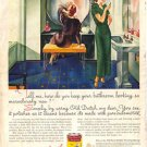 1934 Old Dutch Cleanser Magazine Ad Lifeboy Rinso AD132