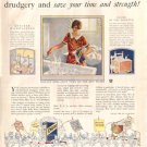 1926 Modern Priscilla Ad Chipso Old English Wax AD140